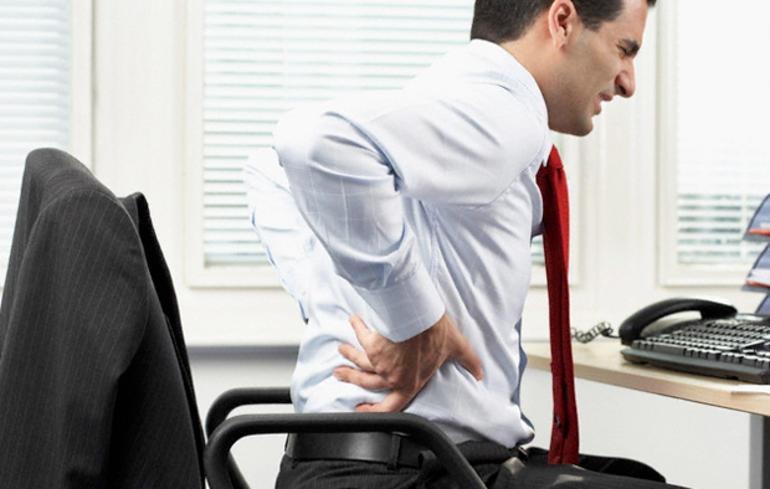 sırt ağrısı ve masaj